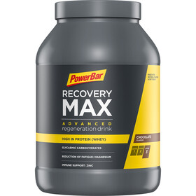 PowerBar Recovery Max Bøtte 1144g, Chocolate